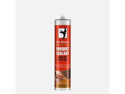 Den Braven - Parketový tmel / Parquet sealant, kartuše 280 ml, tmavý dub
