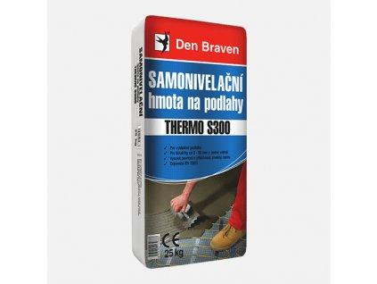 Den Braven - Samonivelační hmota na podlahy THERMO S300, pytel 25 kg