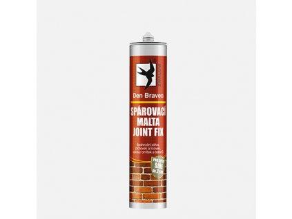 Den Braven - Spárovací malta JOINT FIX, kartuše 310 ml, šedá