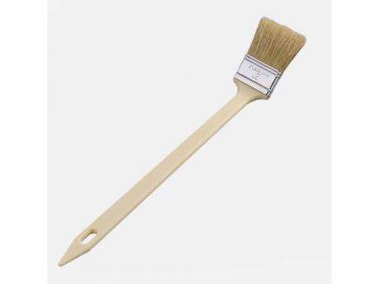 """Den Braven - Štětec plochý za radiátory, 2"""", dřevěná rukojeť"""