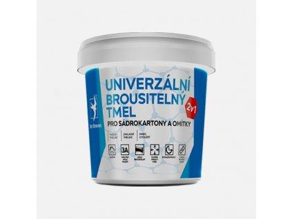 Den Braven - Univerzální brousitelný tmel, kelímek 1,5 kg, bílý