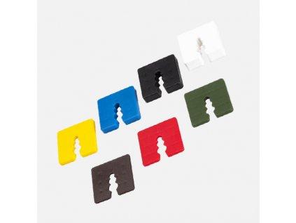 Den Braven - Vymezovací podložka pod soklový profil, 4 mm, plastová