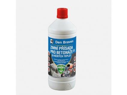 Den Braven - Zimní přísada pro betonáže za nízkých teplot, láhev 1 litr