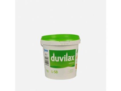 Duvilax L-58 lepidlo na podlahoviny, kelímek 1 kg, bílá