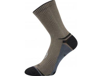 VOXX ponožky Optifan 03 khaki