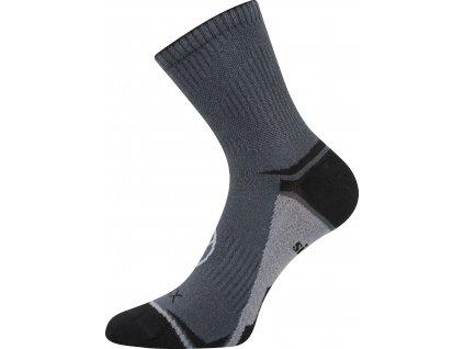 VOXX ponožky Optifan 03 tmavě šedá