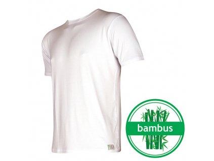 VOXX Tričko bambus bílá