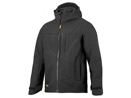 Bunda nepromokavá AllroundWork černá vel. XS Snickers Workwear