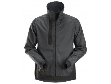 Bunda AllroundWork Stretch šedá XS Snickers Workwear