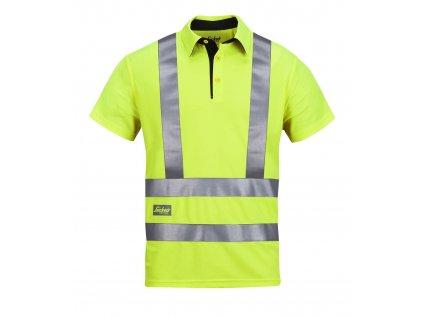 Polokošile reflexní AVS, třída 2/3 žlutá vel. L Snickers Workwear