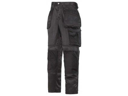 Kalhoty DuraTwill sPK černé Snickers Workwear