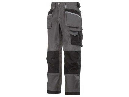 Kalhoty DuraTwill sPK šedé Snickers Workwear