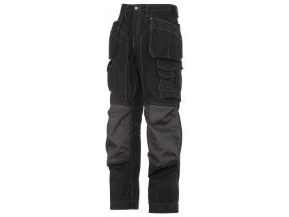 Kalhoty podlahářské Rip-Stop sPK černé Snickers Workwear