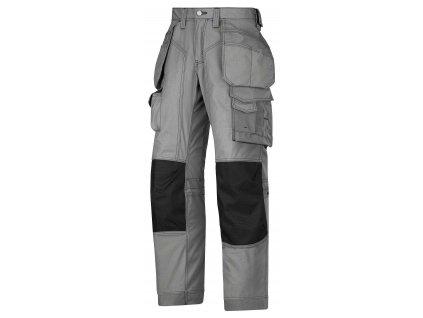 Kalhoty podlahářské Rip-Stop sPK šedé Snickers Workwear