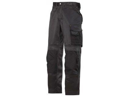 Kalhoty DuraTwill černé Snickers Workwear