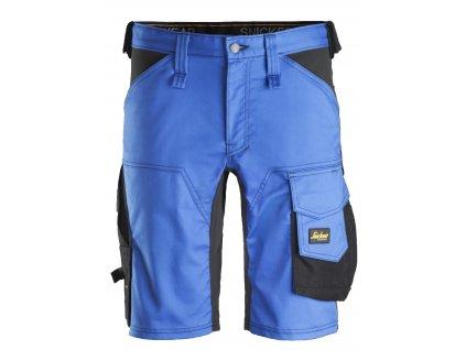Kraťasy AllroundWork Stretch modré Snickers Workwear