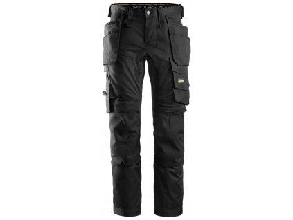 Kalhoty AllroundWork Stretch s PK černé 44 Snickers Workwear