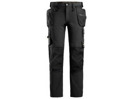 Kalhoty AllroundWork Full Stretch s PK černé Snickers Workwear