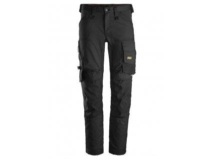 Kalhoty AllroundWork Stretch černé Snickers Workwear