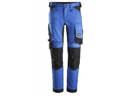 Kalhoty AllroundWork Stretch modré Snickers Workwear