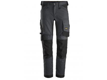 Kalhoty AllroundWork Stretch šedé Snickers Workwear