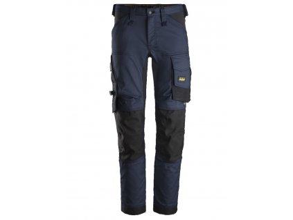 Kalhoty AllroundWork Stretch tmavě modré Snickers Workwear
