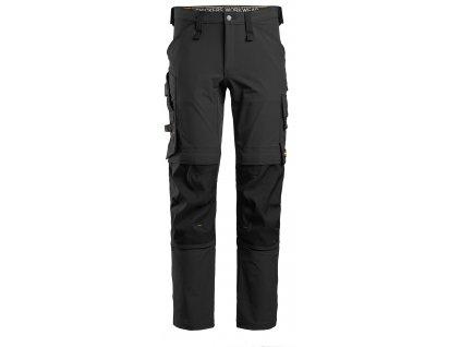 Kalhoty AW Full Stretch černé Snickers Workwear