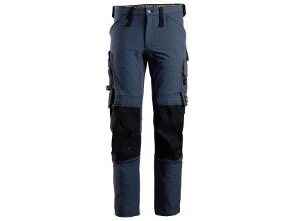 Kalhoty AW Full Stretch tmavě modré Snickers Workwear