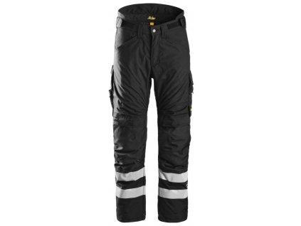 Kalhoty AllroundWork 37.5®zimní černé XS Snickers Workwear