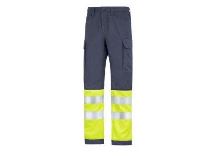 Kalhoty Service vysoká viditelnost, třída I vel.46 Snickers Workwear