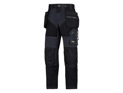 Kalhoty FlexiWork+ sPK černé Snickers Workwear