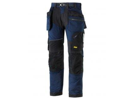 Kalhoty FlexiWork+ sPK tm. modré Snickers Workwear