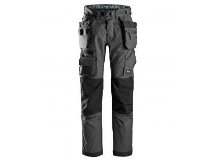 Kalhoty FlexiWork podlahářské s PK šedé Snickers Workwear