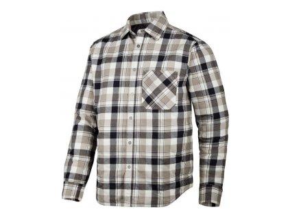 Košile zateplená RuffWork béžová vel. XS Snickers Workwear
