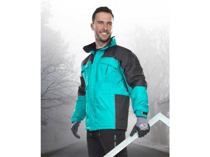 Zimní bunda ARDON®RIVER zelená
