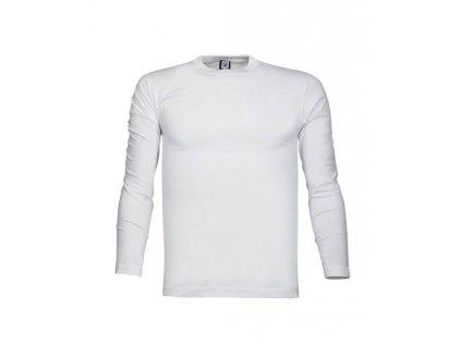 Tričko ARDON®CUBA s dlouhým rukávem bílé