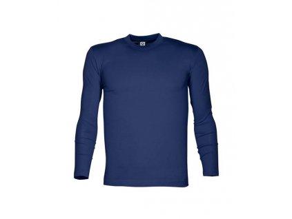 Tričko ARDON®CUBA s dlouhým rukávem navy