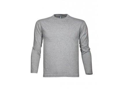 Tričko ARDON®CUBA s dlouhým rukávem šedé