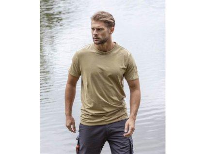 Tričko ARDON®TRENDY světlá khaki