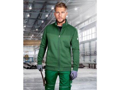 Mikina M007 zelená