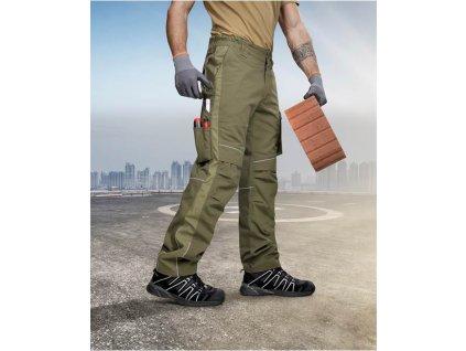 Kalhoty ARDON®URBAN+ khaki zkrácené