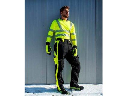 Zimní kalhoty ARDON®NEON černo-žluté