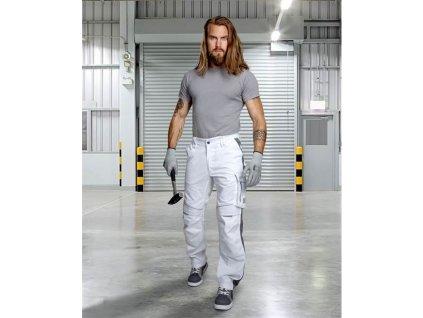 Kalhoty ARDON®URBAN+ bílé prodloužené