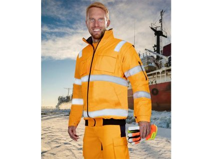 Reflexní bunda ARDON®HOWARD oranžová