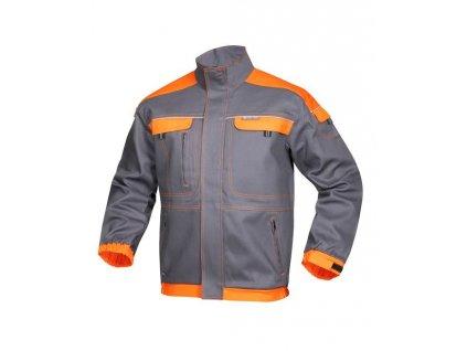 Blůza COOL TREND šedo-oranžová