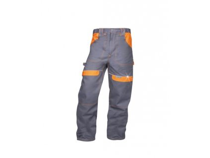 Kalhoty pas COOL TREND šedo-oranžové