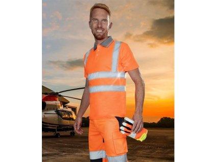 Reflexní polokošile ARDON®REF202 oranžová