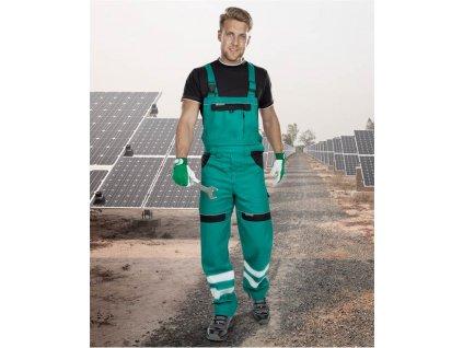Reflexní kalhoty lacl COOL TREND zelené