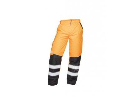 Zimní reflexní kalhoty HOWARD oranžové