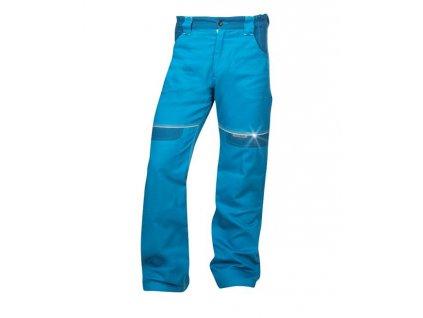 Kalhoty pas COOL TREND Středně modré zkrácené